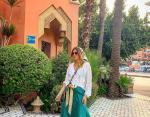 Жанна Бадоева в Марокко