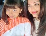 Айшвария с дочерью