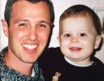 Молодой Игорь Верник с маленьким сыном