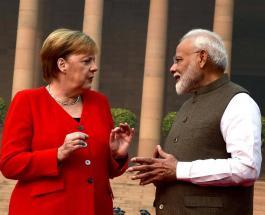 Ангела Меркель отказалась надеть маску в Нью-Дели несмотря на рекомендации врачей