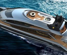 """Дизайнеры Porsche выполнили просьбу заказчика создать """"космический корабль на воде"""""""