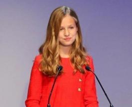 Принцесса Леонор блеснула лингвистическими способностями на мероприятии в Барселоне
