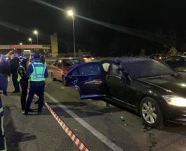 Один человек погиб и двое ранены в результате взрыва автомобиля Mercedes в Киеве