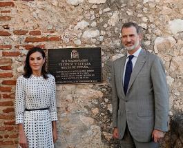 Король и королева Испании отдали дань памяти погибшим морякам в рамках исторического тура