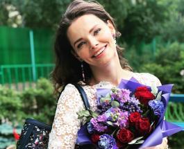 Елизавета Боярская в кожаном платье показала стройную фигуру через 11 месяцев после родов