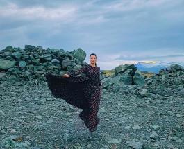 Даша Астафьева среди ледников Исландии: мечта звезды исполнена