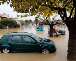 Проливные дожди в Европе: обрушение автомагистрали в Италии и гибель 2 человек во Франции