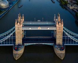 В Лондоне перекрыли Тауэрский мост на 2 часа для спасения упавшего с лестницы мужчины