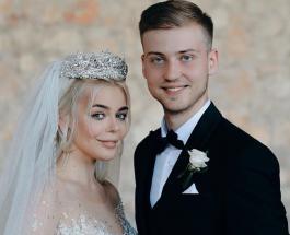 Свадьба года 2019: Алина Гросу и ее муж получили награду от украинского телешоу