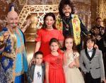 Жасмин, Киркоров и дети: Маргарита, Мирон, Мартин и Алла-Виктория