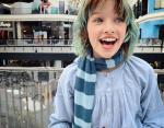 Старшая дочь Милы Йовович действительно счастлива