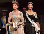Королева Сильвия и Виктория