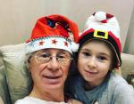Новое Рождественское фото Аркадия Укупника и его дочери Софии