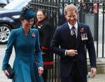 Кейт Миддлтон и принц Гарри на праздновании дня благодарения