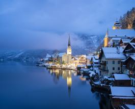 В самом популярном курортном городке Австрии произошел пожар