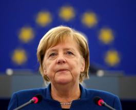 Ангела Меркель посетила Освенцим в рамках рабочей поездки в Польшу