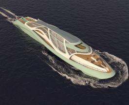 Яхта в стиле Джеймса Бонда может превращаться в подводную лодку для секретных переговоров