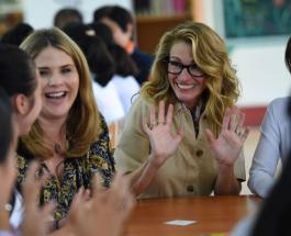 Мишель Обама и Джулия Робертс посетили Вьетнам с целью поддержать образование девочек