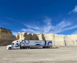 Автономный грузовик без водителя впервые в истории пересек территорию США всего за 3 дня