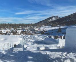 Зимняя сказка в Польше: фото самого большого в мире снежного лабиринта