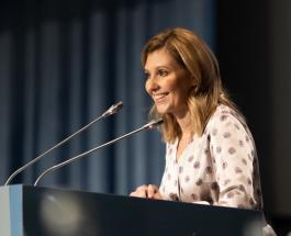 Первая леди Украины посетила школы: Елена Зеленская заговорила о реформе детского питания