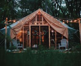 Палатка площадью 27 м² стала уютным домом: фото жилища американской семьи из 4 человек