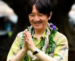 Японский принц Акисино с женой посетили памятный мемориал на острове Окинава