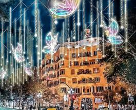 Предновогодняя Барселона: фото украшенного испанского города к наступающим праздникам