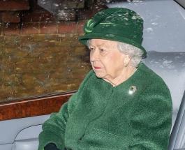 Елизавета II посетила воскресную службу пока Принц Филипп находится в больнице