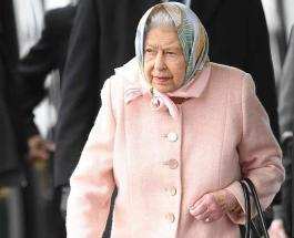 Елизавета II прибыла в церковь Святой Марии Магдалины в сопровождении графини Уэссекской
