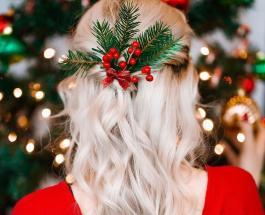 Новогодние прически своими руками: простые и элегантные варианты укладки волос к празднику