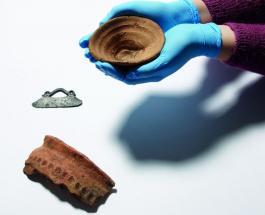 Британский музей представил первую в мире 3500-летнюю одноразовую чашу