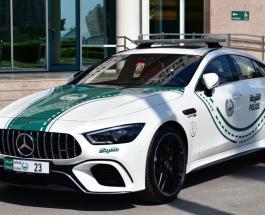 Автопарк полиции Дубая пополнился суперкаром Mercedes-AMG GT