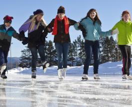 Катание на коньках: польза для здоровья организма