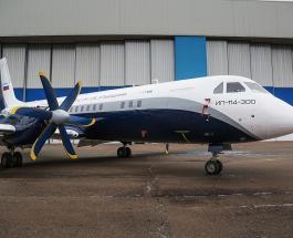 Авиакомплекс имени Ильюшина представил первый опытный образец Ил-114-300