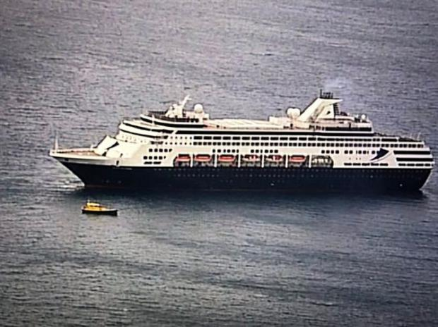 Паника на борту круизного лайнера