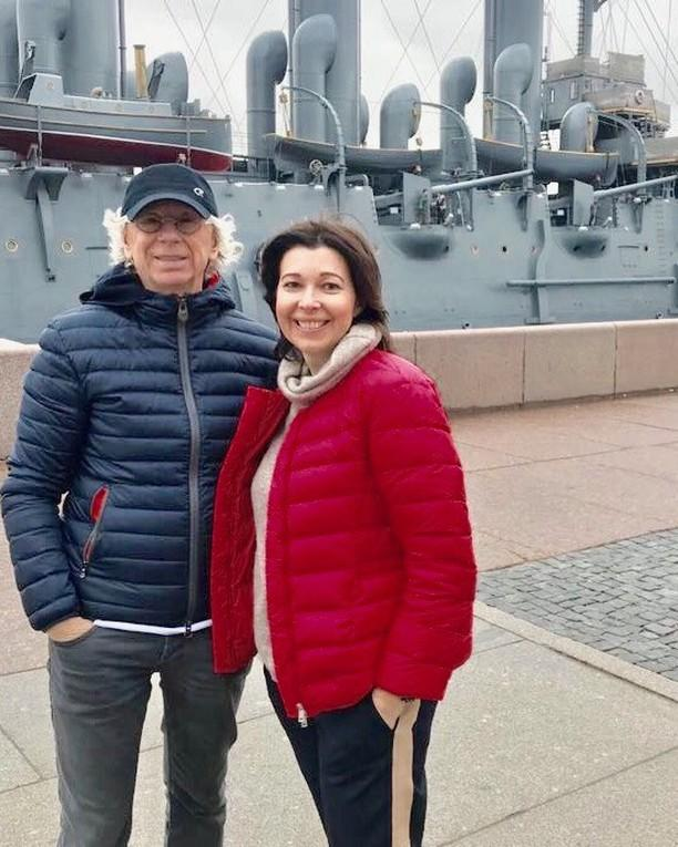 Аркадий Укупник с супругой Натальей