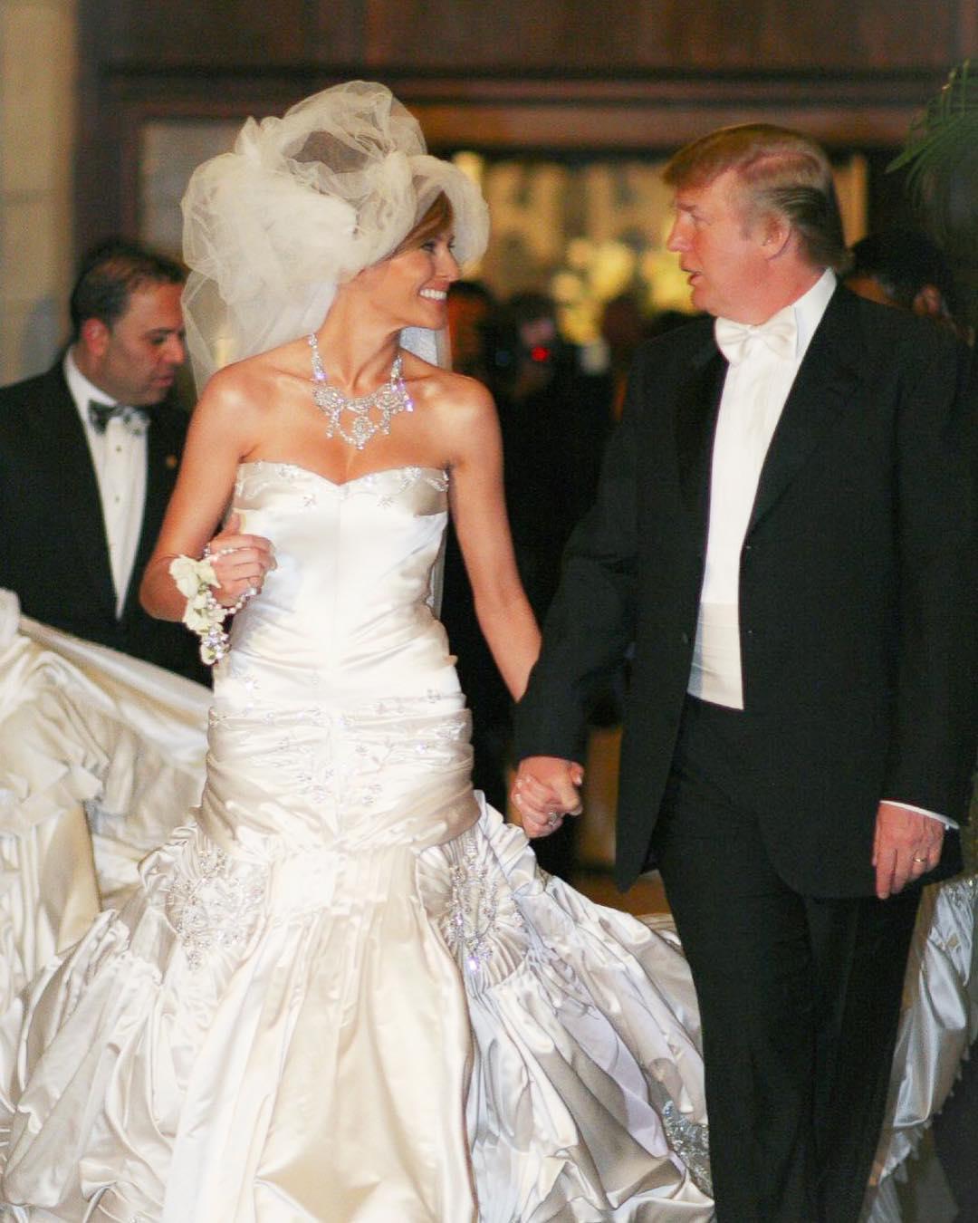 мелания трамп свадьба фото жизнь