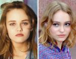 Ванесса Паради и Лили Роуз-Депп в 17 лет