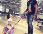 Арсен Мирзоян с дочерью