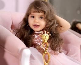 Самой красивой 2-летней девочкой России стала малышка из Воронежа с редким заболеванием