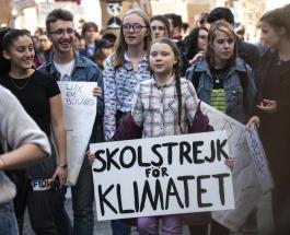 Шведская активистка Грета Тунберг отметила семнадцатый день рождения забастовкой