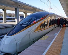 Самый быстрый в мире беспилотный поезд запущен в Китае