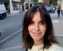 """Кортни Кокс поделилась ранее не опубликованным фото со съемочной площадки сериала """"Друзья"""""""