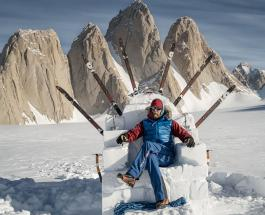 Альпинист стал первым британцем поднявшимся на самую отдаленную гору в мире
