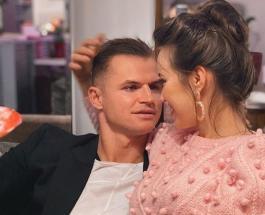 Дмитрий Тарасов поздравил Анастасию Костенко с днем венчания и признался ей в любви