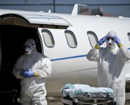 В 4 аэропортах России врачи обследуют туристов, прибывающих из Китая