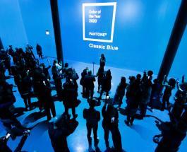 Цвет Pantone 2020 года – классический синий