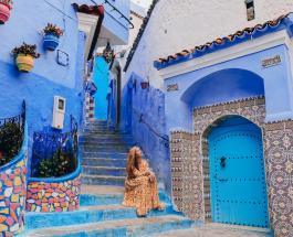 «Голубая жемчужина» Марокко: город с синими стенами