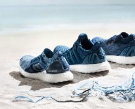 Adidas начинает производство обуви из переработанного пластика